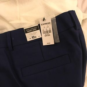 NWT - Express Columnist Barely Boot Work Pants